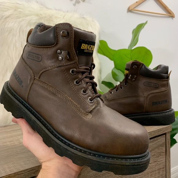 brazos Shoes   Brazos Steel Toe Leather